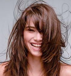 Frisuren Lange Haare Gestuft Haare Pinterest