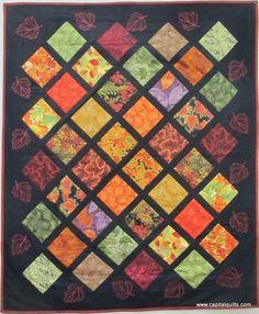 Charming Challenge 2013 FIRST PLACE, original quilt | Carol Margolio