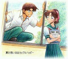 Heiji and kazuha l detective conan