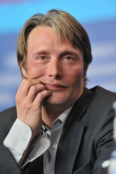 Sometimes even Mads can't handle the weight of their beauty and he has to rest them on his hands.   28 Reasons Why You Should Be Sexually Attracted To Mads Mikkelsen's Cheekbones