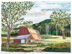 Landscape Art Quilts, Step-by-Step: Learn Fast, Fusible Fabric Collage with Ann Loveless