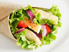 Chicken and Rice Wraps