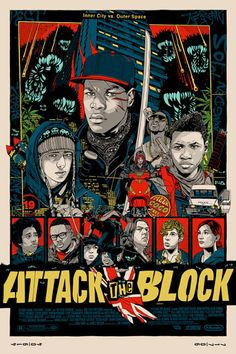 'Attack The Block' by Tyler Stout