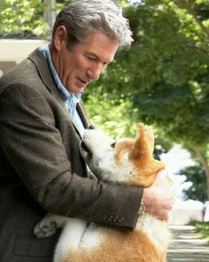 Hachi    Richard Gere....I have never cried so much and still cry thinking about this movie!