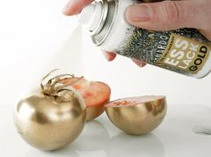 Edible gold spray paint: how I will eat everything from now on.