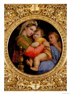 The Madonna of the Chair Giclee Print by Raphael at AllPosters.com