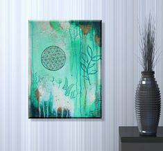 Sacred Geometry wall art #floweroflife #sacredgeometry #wallart #art #originalart #painting #boho #bohostyle #bohoart Original Artwork, Original Paintings, Acrylic Painting Flowers, Flower Of Life, Boho, Sacred Geometry, Hand Painted, Wall Art, Canvas