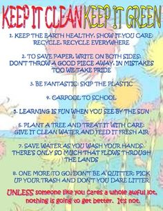 The Lorax's Rules to a Green Classroom FREE