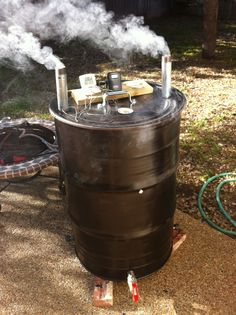 My Ugly Drum Smoker (UDS)