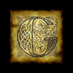 G with Celtic Knotwork