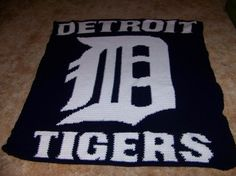 Looking for crocheting project inspiration? Check out Detroit Tigers by member lsgerzetich.