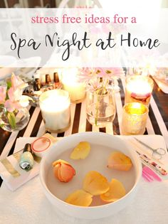 At Home Spa Party Stress free ideas for a spa night. Manicures, food and fun perfect for girls night, book club or no reason at all. Essential oil differ and essential oil candles from Better Homes & Gardens at Walmart create soothing aromatherapy. Spa Day Party, Girl Spa Party, Diy Party, Diy Spa Tag, Spa Food, Spa Weekend, Girls Weekend, Spa Night, Essential Oil Candles