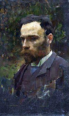 John William Waterhouse - Self Portrait