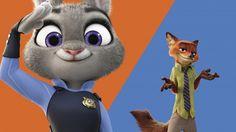 Download Zootopia Movie Judy Hopps and Nick Wilde Wallpaper 2560x1600