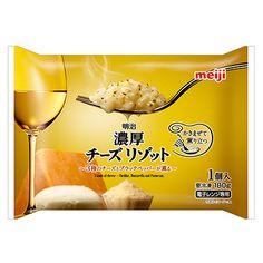 明治 濃厚チーズリゾット - 食@新製品 - 『新製品』から食の今と明日を見る!