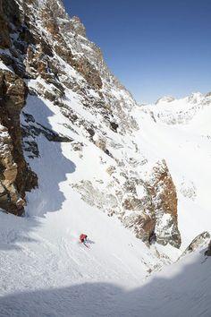 Chute, this is going to be fun!!! - Ski the Sawtooths | Scott Sports, Sawtooth Mountain Guides | Backcountry Skiing | Skiing Magazine