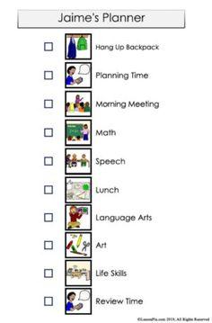 3 Ways to Use Visual Schedules for Language Building Visual Schedule Preschool, Classroom Schedule, Preschool Special Education, Visual Schedules, Word Symbols, Preschool Speech Therapy, School Psychology, Speech And Language, Social Skills