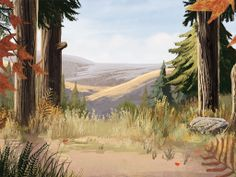 Christian Schlaeffer. Paints nice classic backgrounds, also a good animator, illustrator.