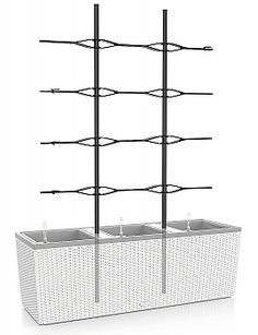 Trio 40 Trellis with 4 adjustable cross-members.  (Planter Sold Separately) | seattleluxe.com