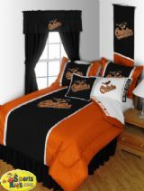 Sports Coverage Baltimore Orioles Sidelines Bedding Series Custom Package