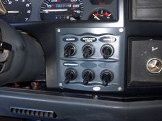 a Hella auxiliary switch panel (Jeep)