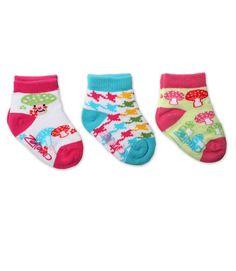So cute! THA member Zutano socks!