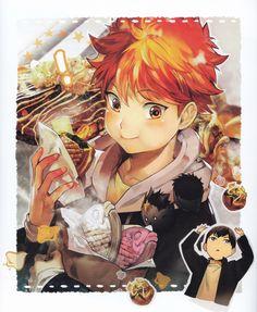 Orka (mangaka), Haikyuu!!, Haikyuu!! Food Illustration Book, Shouyou Hinata, Tobio Kageyama