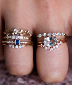 Incredible diamond detail and pops of color