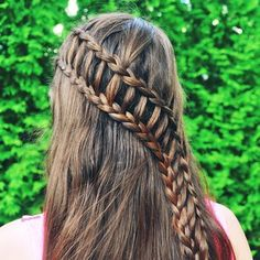 Finally, I've found the ladder of success. | 35 Mind-Bogglingly Complicated Braids That Are A Feat Of Human Ingenuity