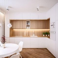 There is no question that designing a new kitchen layout for a large kitchen is much easier than for a small kitchen. A large kitchen provides a designer with adequate space to incorporate many convenient kitchen accessories such as wall ovens, raised. Kitchen Room Design, Kitchen Cabinet Design, Modern Kitchen Design, Kitchen Layout, Home Decor Kitchen, Kitchen Living, Interior Design Kitchen, Home Kitchens, Tan Kitchen