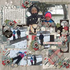 Two Tiny Turtles Life Is Good Template Studio Flergs Let It Snow
