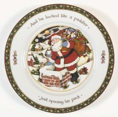 Portmeirion Christmas Story at Replacements Ltd  sc 1 st  Pinterest & Portmeirion A CHRISTMAS STORY Deviled Egg Plate Serving Tray Susan ...