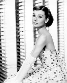 """Audrey Hepburn from """"Funny Face"""" (1957)"""