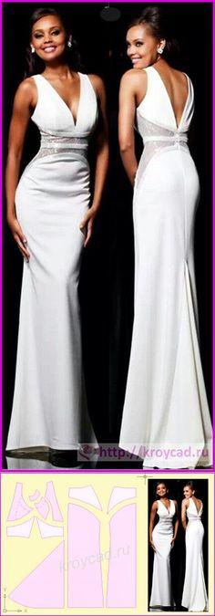 Выкройка платья на выпускной бал своими руками (крой, шитье, видео) | шитье | Постила