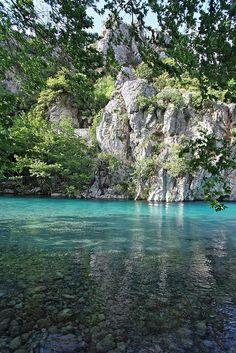 Voidomatis river in Zagoria, Epirus
