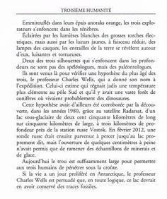 Le Bouquinovore: Second Extrait du roman Troisième Humanité de Bernard Werber