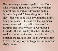 ....yes....life is too short ...