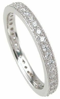 Vintage Style Wedding Ring Band White Gold Ep Sterling Silver EDWIN EARLS. $29.99. White Gold Bonded Sterling Silver. 925 Sterling silver. Slim Victorian Style Cz Wedding Band. Vintage Style Diamond Cz Wedding Band