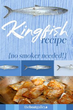 Don't throw that Kingfish (King Mackerel) back. Here's how to prep it. And you don't need a smoker. Don't throw that Kingfish (King Mackerel) back. Here's how to prep it. And you don't need a smoker. Steak Recipes, Fish Recipes, Seafood Recipes, Dinner Recipes, King Mackerel, Mackerel Fish, Gluten Free Beer, Dairy Free Recipes