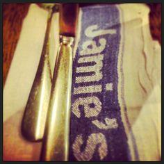 I want a personalised napkin like Jamie!