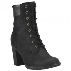 6bd761d6757 Timberland Womens Glancy 6 Boot Black Nubuck 7 M     Visit the image link