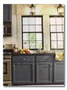 blue gray cabinets - Blue Grey Kitchen Cabinets