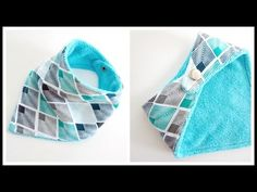 {Step-by-Step} Easy Bandana Baby Bib 3m-36m - YouTube