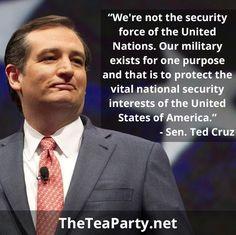 Keep telling it like it is, Ted!