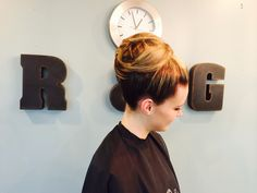 #TrialUpdo for one of the brides that came in today.