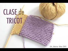 Clase tricot: Sacar puntos nuevos de un tejido (parte 1) - YouTube