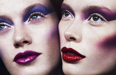 Publication: French Revue de Modes Issue: Spring/Summer 2013 Title: Double Face Models: Julia Hafstrom & Chantal Stafford Abbott Photography: Marcus Ohlsson Hair: Roberto Di Cuia Make-up: Fredrik Stambro Crystal Renn, Lund, Lipstick Colors, Lip Colors, Colours, Contour Makeup, Beauty Makeup, Trendy Mood, Real Techniques Brushes