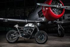 Honda CB450   ... love the photo!