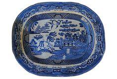 Blue Willow   Wall Platter on OneKingsLane.com