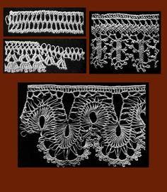Iva Rose Vintage Reproductions - Needlecraft Practical Journal #24 c.1902 - Hairpin Crochet